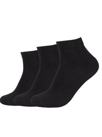 Camano Unisex ca-soft Sneaker Socken Quarter 3 Paar
