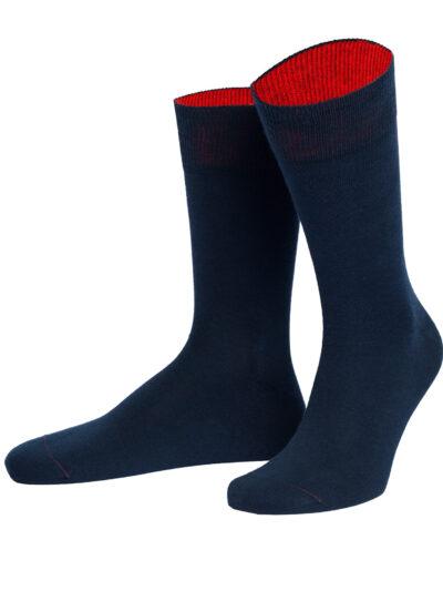 von Jungfeld Herren Socken Feuerland Marineblau