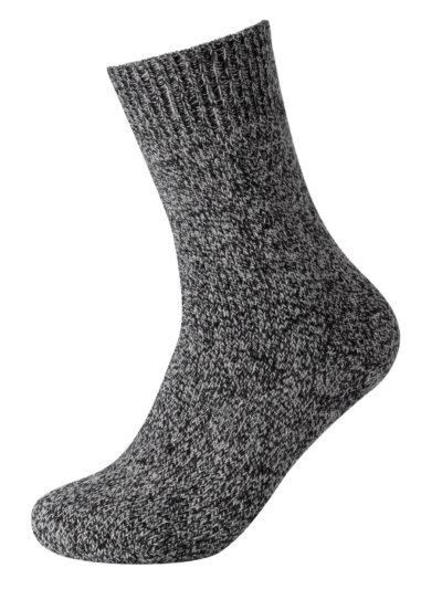 Camano Warm Up Socken Grau-Meliert