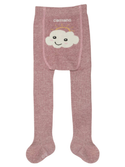Camano Baby-Mädchen Strumpfhose Fashion Tights Rosa