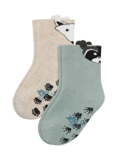 s.Oliver Baby Jungen Socken 2 Paar Abs-krabbelsöckchen