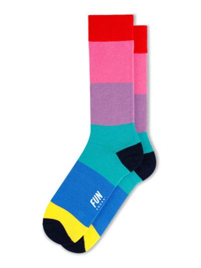 Fun Socks Color Block Herren Socken
