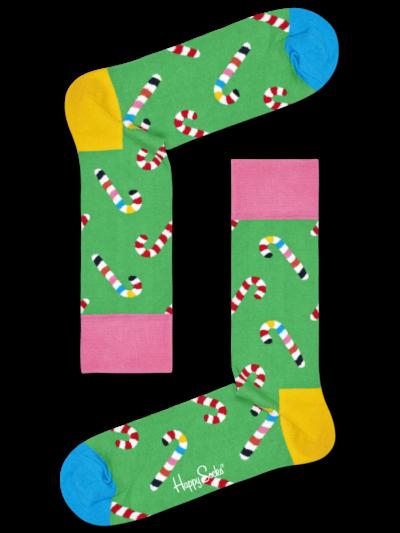 Happy Socks Candy Cane Socken Zuckerstangen
