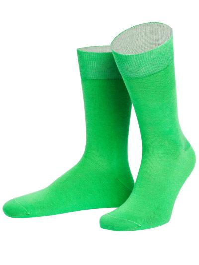 von Jungfeld Herrensocken Limerick Grün