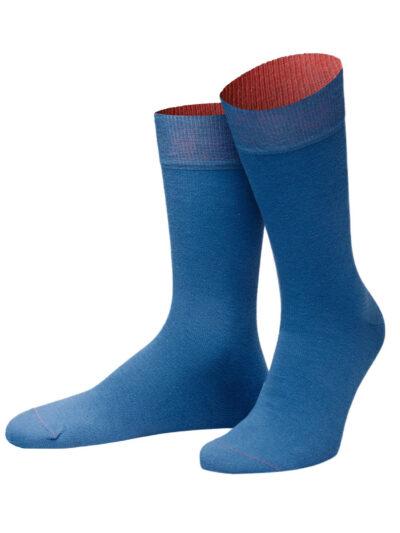 Killybegs Socken von Jungfeld Herrensocken Blau