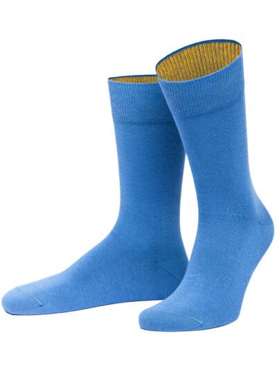 von Jungfeld Herren Socken Bermuda Südseeblau