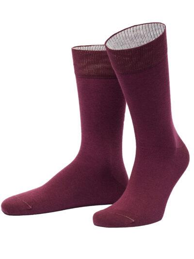 von Jungfeld Herren Socken Burgenland Bordeaux