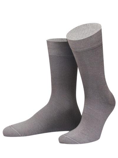 von Jungfeld Herren Socken Pompeji Anthrazit Grau