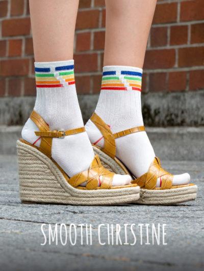 Smooth Christine Pride Socken von Too Hot To Hide
