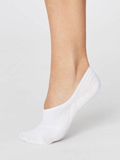 Thought Füßlinge Sneakersocken Weiß