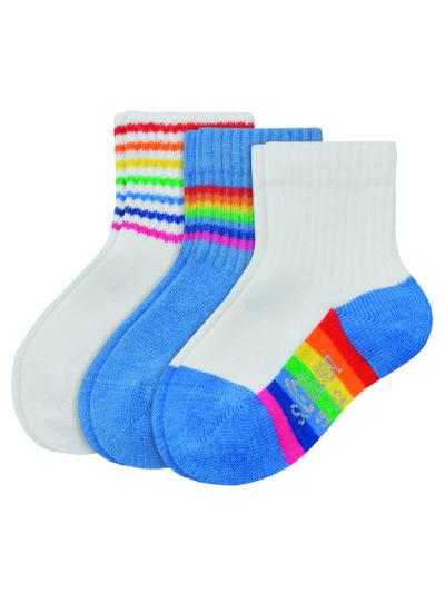 s.Oliver Baby Socken Rainbow Pride 3 Paar Bio-Baumwolle