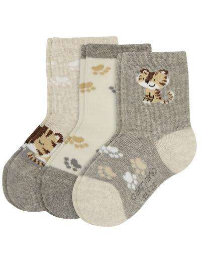 Camano Baby Tiger Socken 3er Pack