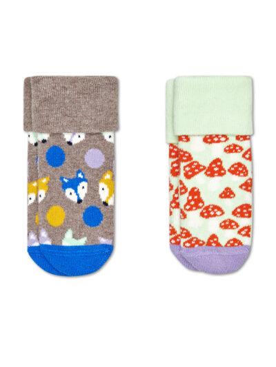 Happy Socks Babysocken Fox Terry im 2er Pack