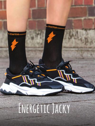2H2H Energetic Jacky Socken von Too Hot To Hide