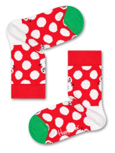 Happy Socks Big Dot Snowman Kinder Socken
