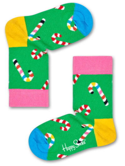 Happy Socks Kinder Socken Candy Cane