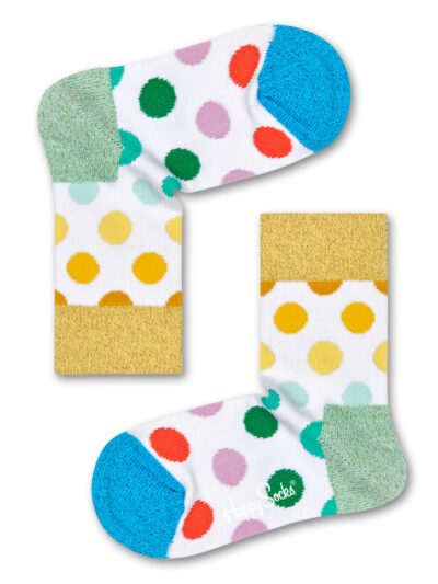 Happy Socks Pride Kids Big Dot Socken Kindersocken