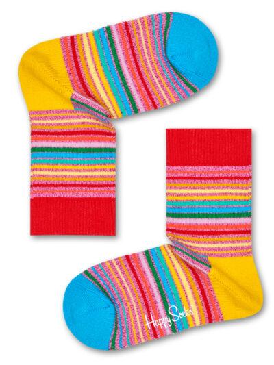 Happy Socks Kindersocken Pride Kids Sunrise