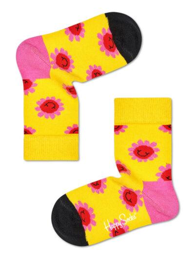 Happy Socks Smiley Flower Kindersocken