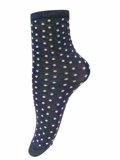 Unmade Copenhagen Moonlight Navy Blue Socken