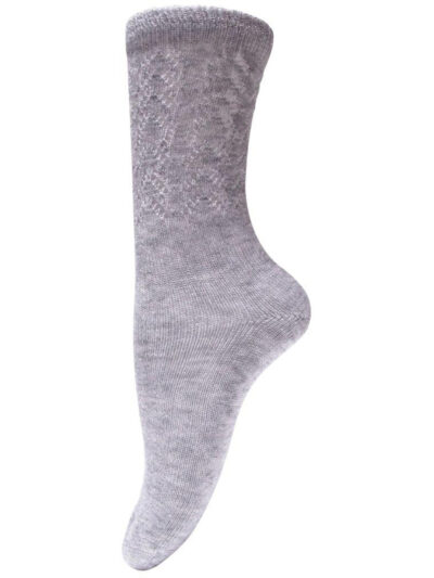 Unmade Copenhagen Socken Gaja Grau Melange