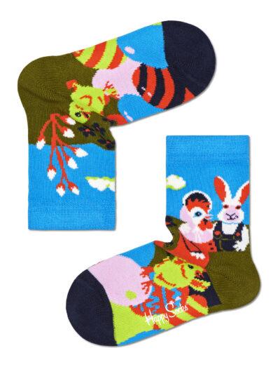 Happy Socks Kindersocken Osternest Easter Egg