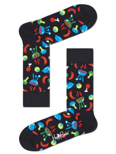 Happy Socks Barbeque Grillfans Socken