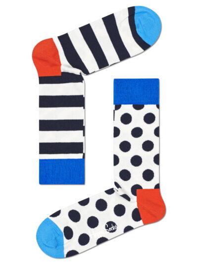 Happy Socks Stripe Dot Socken Half/Half