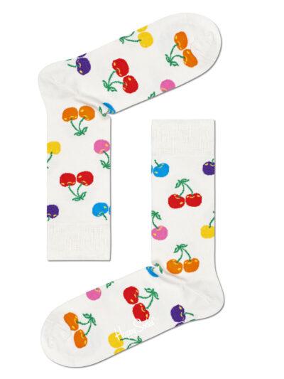 Happy Socks Cherry Socken Pride Colours Kirschen
