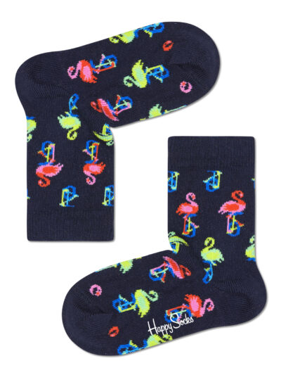 Happy Socks Kindersocken Flamingo Einrad