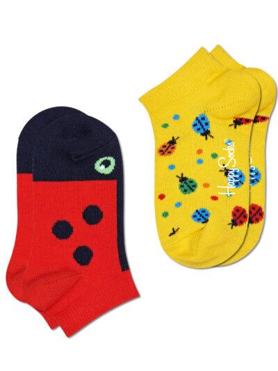 Happy Socks Marienkäfer Sneakersocken Kinder Ladybug