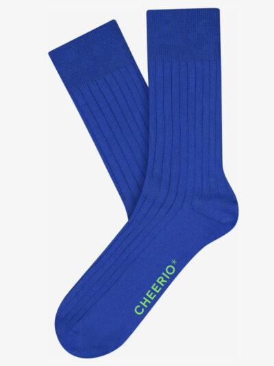 Cheerio Tough Guy Socken 2er Pack Nautical Blue Gerippt