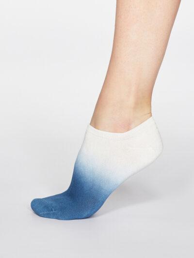 Thought Dip Dye Trainer Socken Bambus