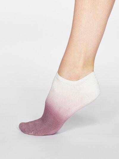 Thought Sneakersocken Dip Dye Trainer Socken