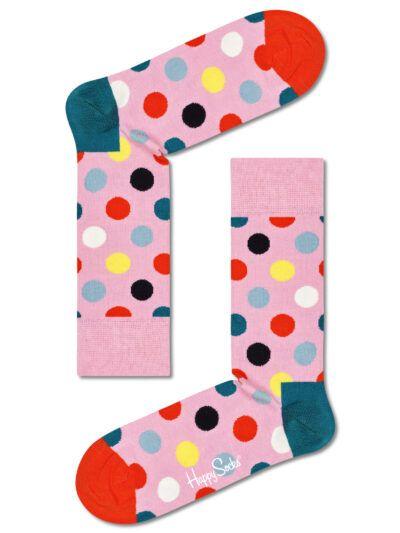 Happy Socks Rosa Socken Big Dot