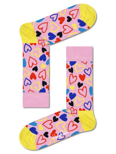 Happy Socks Bunte Herzsocken I Heart U Socken