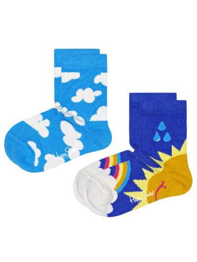 Happy Socks After Rain Kindersocken Sonnenschein 2 Paar