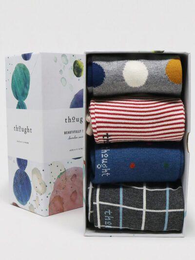 Thought Geschenkbox Dorah Socken 4 Paar Bamboosocken