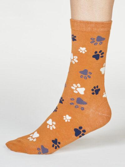 Thought Socken Pfotenabdruck Elsa Paw Tatzen-Design