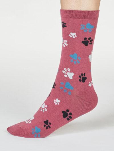 Thought Socken Tatzen-Design Elsa Paw Pfotenabdruck