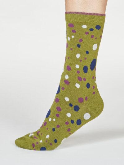Thought Lucille Spot Socken Bamboosocken