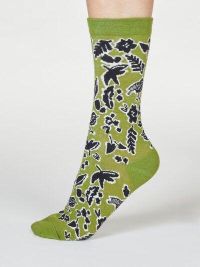 Thought Socken Vogel Wald Essie Forest Animal