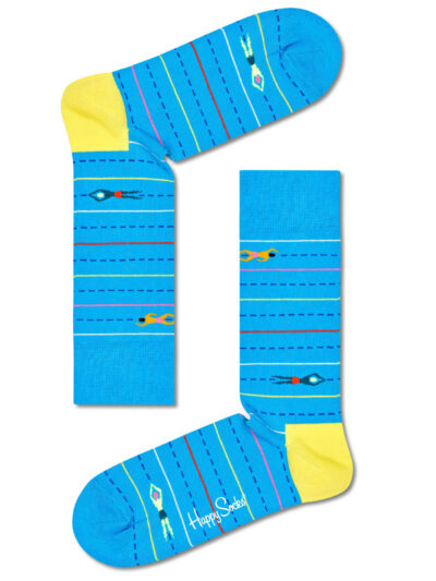 Happy Socks Schwimmer Workout Socken