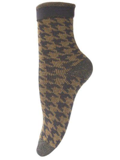 Unmade Copenhagen Beige Grau Socken Anouk