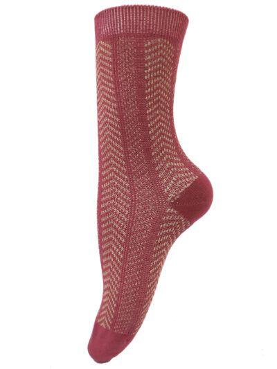 Unmade Copenhagen Peronya Lipstick Socken