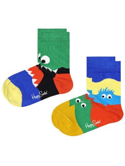 Happy Socks Monster Kindersocken 2 Paar