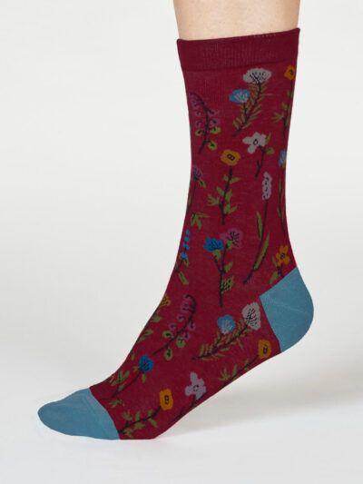 Thought Mondie Socken Blumenmuster Floral-Design