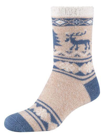 Camano Cosy Christmas Socken mit Elch