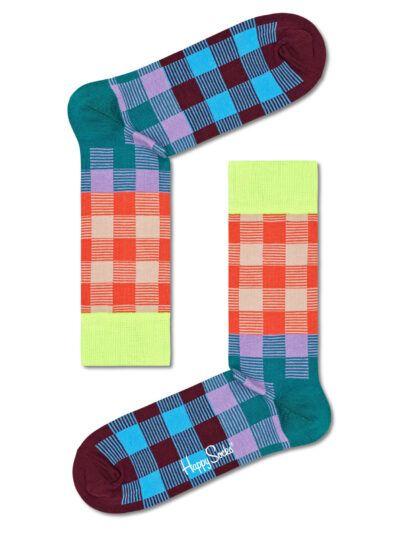 Happy Socks Electric Karierte Socken