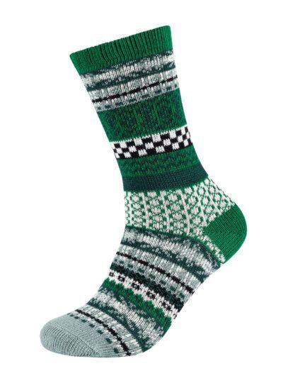 s.Oliver Norweger Socken Hygge Grün